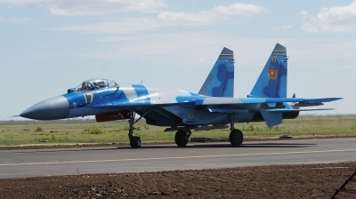 Photo ID 178451 by Lukas Kinneswenger. Kazakhstan Air Force Sukhoi Su 27M2,