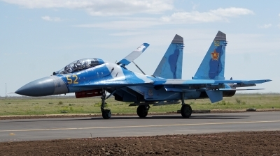 Photo ID 178450 by Lukas Kinneswenger. Kazakhstan Air Force Sukhoi Su 27UBM2,