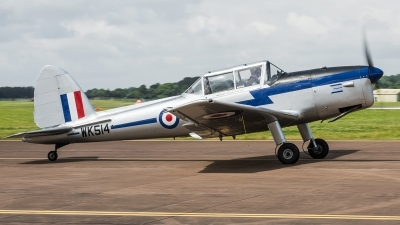Photo ID 178848 by Alex van Noye. UK Air Force De Havilland Canada DHC 1 Chipmunk T10, WK514