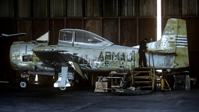Photo ID 178828 by Carl Brent. Uruguay Navy North American T 28S Fennec, 403