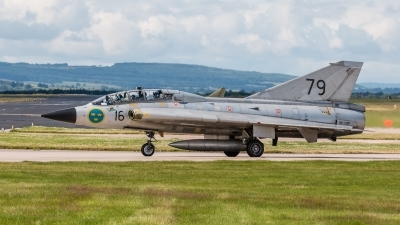 Photo ID 178900 by Mike Macdonald. Private Swedish Air Force Historic Flight Saab Sk35C Draken, SE DXP