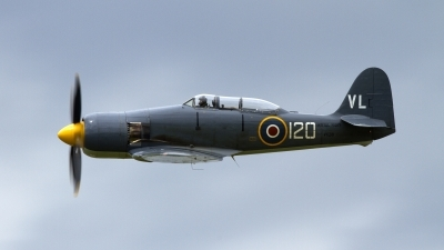 Photo ID 178911 by Kostas D. Pantios. UK Navy Hawker Sea Fury T20, G RNHF