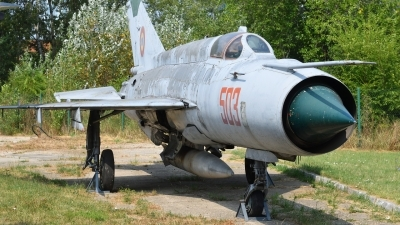 Photo ID 179207 by Peter Terlouw. Romania Air Force Mikoyan Gurevich MiG 21M, 503
