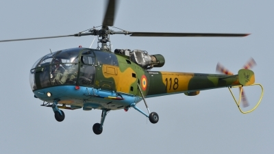 Photo ID 179301 by Peter Terlouw. Romania Air Force IAR 316B Alouette III, 118