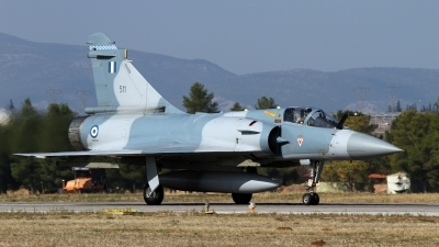 Photo ID 179360 by Kostas D. Pantios. Greece Air Force Dassault Mirage 2000 5EG, 511