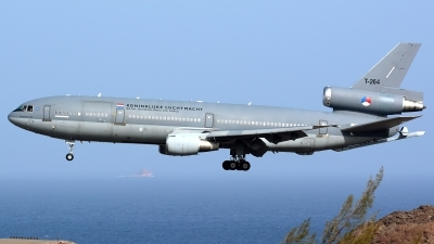 Photo ID 179517 by Alejandro Hernández León. Netherlands Air Force McDonnell Douglas KDC 10 30CF, T 264