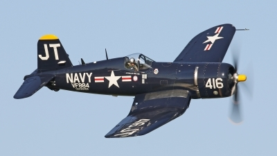 Photo ID 179566 by David F. Brown. Private Private Vought F4U 4 Corsair, N713JT