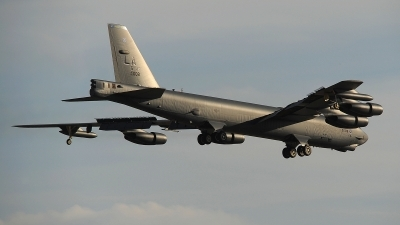Photo ID 179628 by Peter Boschert. USA Air Force Boeing B 52H Stratofortress, 60 0008