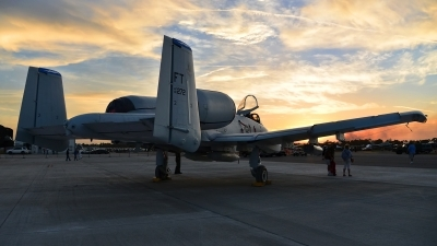 Photo ID 179824 by Rod Dermo. USA Air Force Fairchild A 10A Thunderbolt II, 80 0272