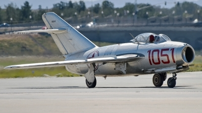 Photo ID 182555 by W.A.Kazior. Private Planes of Fame Air Museum Mikoyan Gurevich MiG 15bis, NX87CN