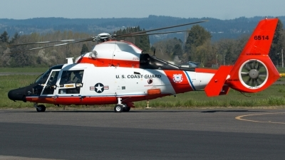 Photo ID 179991 by Alex Jossi. USA Coast Guard Aerospatiale MH 65D Dolphin SA 366G 1, 6514