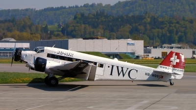 Photo ID 184436 by Sven Zimmermann. Private Ju Air Junkers Ju 52 3M, HB HOS