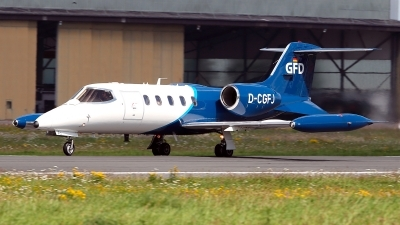Photo ID 180093 by Carl Brent. Company Owned GFD Learjet 35A, D CGFJ