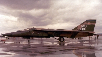 Photo ID 2337 by Ted Miley. USA Air Force General Dynamics F 111A Aardvark, 67 0070