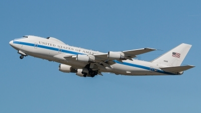 Photo ID 180112 by Thomas Leicht. USA Air Force Boeing E 4B 747 200B, 75 0125