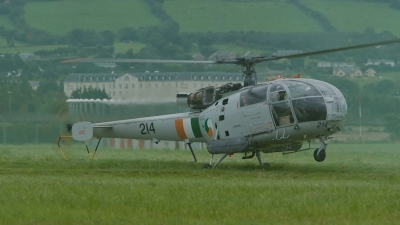 Photo ID 180130 by Niall Grant. Ireland Air Force Aerospatiale SA 316B Alouette III, 214
