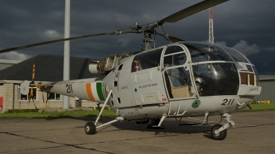 Photo ID 180932 by Niall Grant. Ireland Air Force Aerospatiale SA 316B Alouette III, 211