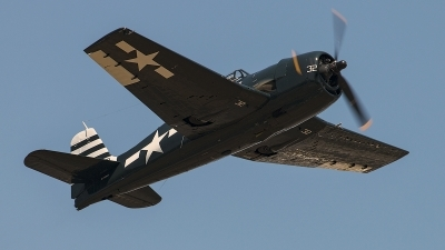 Photo ID 180208 by Aaron C. Rhodes. Private Flying Heritage Collection Grumman F6F 5 Hellcat, NX79863