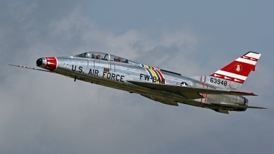 Photo ID 180332 by David F. Brown. Private Global Aerospace Inc North American F 100F Super Sabre, N2011V
