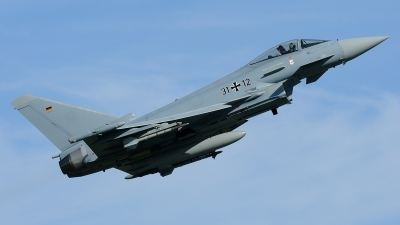 Photo ID 180393 by Klemens Hoevel. Germany Air Force Eurofighter EF 2000 Typhoon S, 31 12