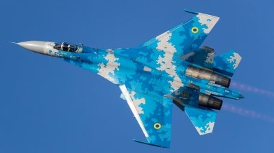 Photo ID 180353 by Andreas Zeitler - Flying-Wings. Ukraine Air Force Sukhoi Su 27,