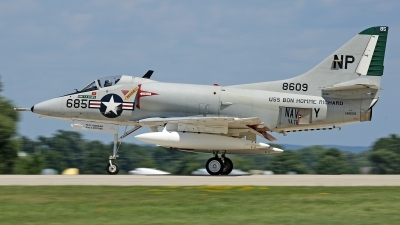 Photo ID 180373 by David F. Brown. Private Warbirds Heritage Foundation Douglas A 4C Skyhawk, N49WH