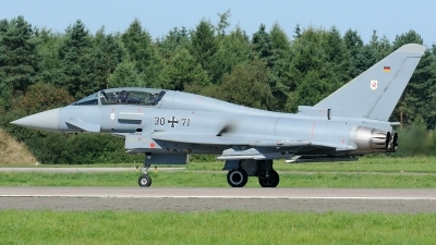 Photo ID 180559 by Klemens Hoevel. Germany Air Force Eurofighter EF 2000 Typhoon T, 30 71