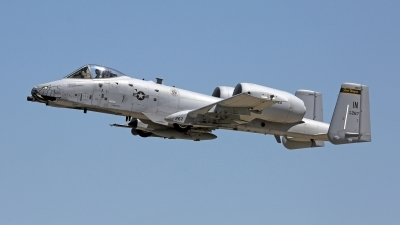 Photo ID 180634 by David F. Brown. USA Air Force Fairchild A 10C Thunderbolt II, 80 0267