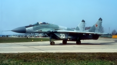 Photo ID 180778 by Rainer Mueller. Russia Air Force Mikoyan Gurevich MiG 29C 9 13,