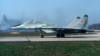 Photo ID 182255 by Rainer Mueller. Russia Air Force Mikoyan Gurevich MiG 29UB 9 51, 33 WHITE
