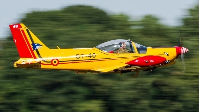 Photo ID 180956 by Alex van Noye. Belgium Air Force SIAI Marchetti SF 260D, ST 40