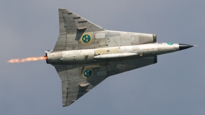 Photo ID 180950 by Walter Van Bel. Private Swedish Air Force Historic Flight Saab Sk35C Draken, SE DXP