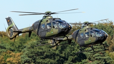 Photo ID 181003 by Carl Brent. Germany Army Eurocopter EC 135T1, 82 59