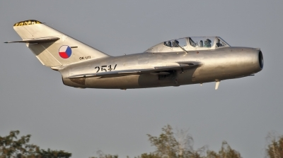 Photo ID 181042 by Jan Suchanek. Private Czech Flying Legends Mikoyan Gurevich MiG 15UTI, OK UTI