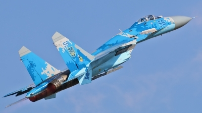 Photo ID 181056 by Jan Suchanek. Ukraine Air Force Sukhoi Su 27P,