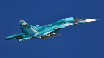 Photo ID 181147 by Sergey. Russia Air Force Sukhoi Su 34 Fullback,