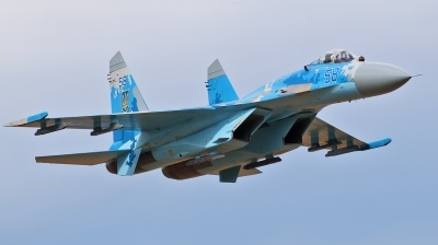 Photo ID 181148 by Jan Suchanek. Ukraine Air Force Sukhoi Su 27P,