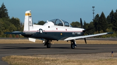 Photo ID 181185 by Alex Jossi. USA Air Force Raytheon T 6A Texan II, 07 3874