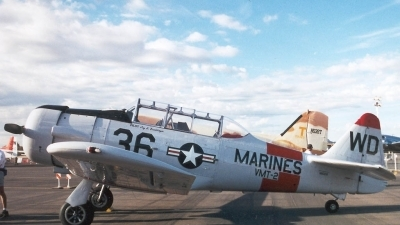 Photo ID 2352 by Ted Miley. USA Marines North American SNJ 4 Texan,