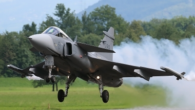 Photo ID 181443 by Ludwig Isch. Sweden Air Force Saab JAS 39C Gripen, 39289