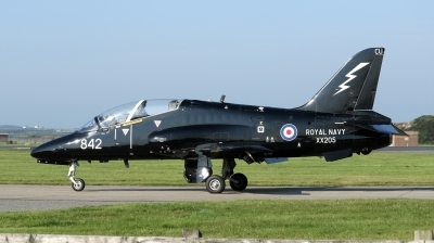 Photo ID 181318 by Mike Griffiths. UK Navy British Aerospace Hawk T 1A, XX205