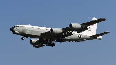 Photo ID 181350 by Lieuwe Hofstra. USA Air Force Boeing RC 135U Combat Sent 739 445B, 64 14849