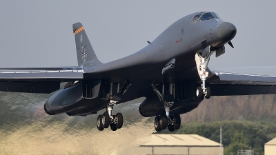 Photo ID 181366 by Lieuwe Hofstra. USA Air Force Rockwell B 1B Lancer, 85 0089