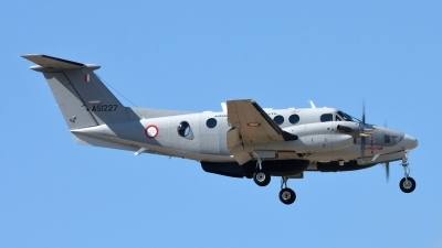 Photo ID 181488 by Mike Hopwood. Malta Air Force Beech Super King Air B200, AS1227