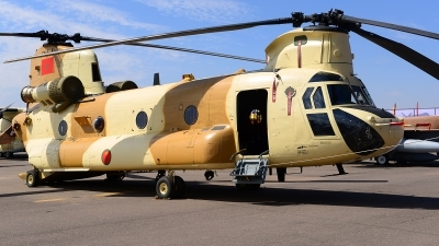Photo ID 181873 by Stephan Franke - Fighter-Wings. Morocco Air Force Boeing Vertol CH 47D Chinook, CN ALK