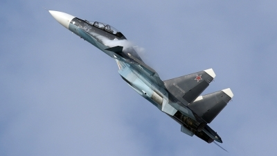 Photo ID 181795 by Tomas Medrik. Russia Navy Sukhoi Su 30SM Flanker,