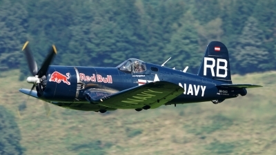 Photo ID 181813 by Lukas Kinneswenger. Private Red Bull Vought F4U 4 Corsair, OE EAS