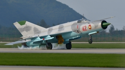 Photo ID 181855 by Peter Terlouw. North Korea Air Force Mikoyan Gurevich MiG 21bis,