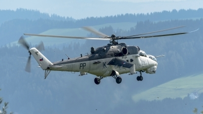 Photo ID 181860 by Martin Thoeni - Powerplanes. Czech Republic Air Force Mil Mi 24V, 3370