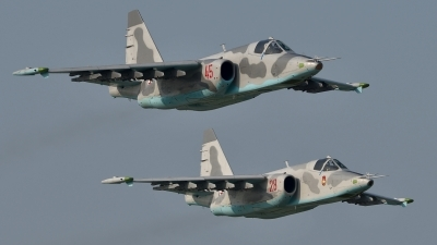 Photo ID 181920 by Peter Terlouw. North Korea Air Force Sukhoi Su 25,